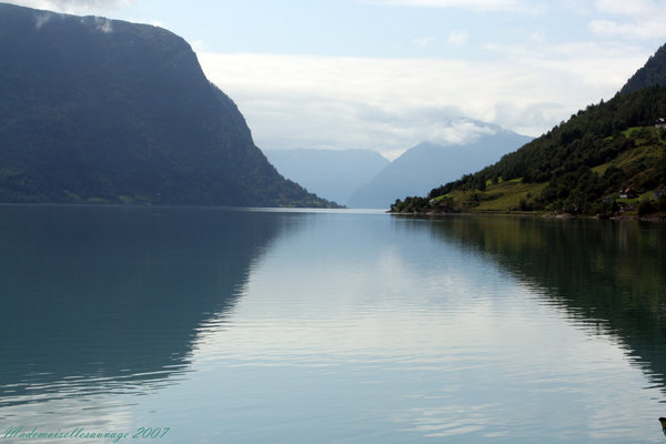 Fjord by Mademoiselle Sauvage - Copyright (c) Roxana Enache