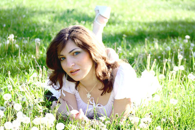 """In the Grass"" Copyright (C) Adina Florentina Toma"