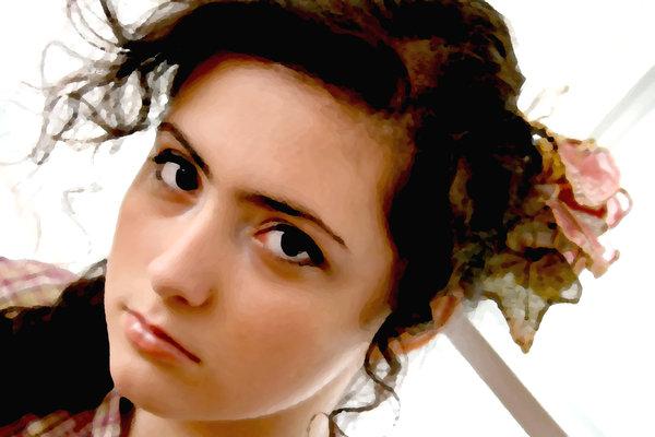 """Fairytale mademoiselle"" Copyright (C) Adina Florentina Toma; Model: Roxana Enache"