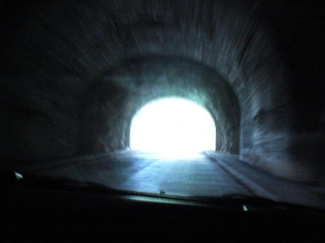 """Light at the End of the Tunnel"" Copyright (c) Adina Florentina Toma"