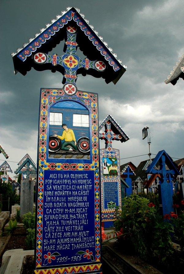 """Cimitirul vesel 2"" Copyright (C) Lorena Lazăr"